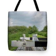 Caen Hill Lock 38 Tote Bag
