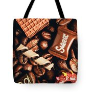 Cafe Beans And Sweet Treats Tote Bag