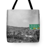 California Highway 101 Tote Bag