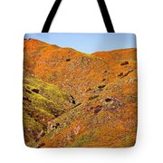 California Poppy Hills Tote Bag