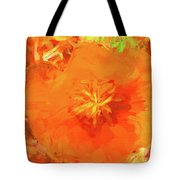 California Poppy Inside Tote Bag