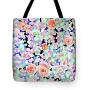 California Rose Garden Tote Bag