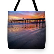 California Sunset Vii Tote Bag