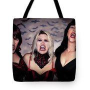 Call Of The Vampires Women Tote Bag
