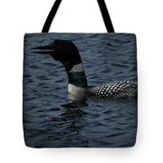 Calling Loon Tote Bag by Dale Kauzlaric