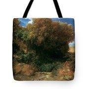 Campagna Landscape 1858 Tote Bag