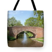 Canal Bridge 56 Tote Bag