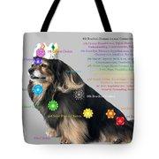 Canine Chakras Tote Bag