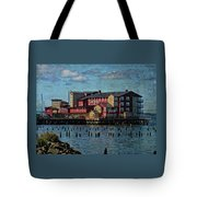 Cannery Pier Hotel Tote Bag