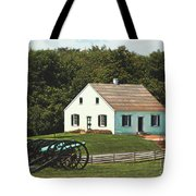 Cannons At Dunker Church Tote Bag