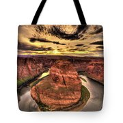 Canyons Bend Vertical  Tote Bag