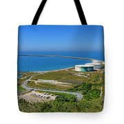 Cap Antifer Oil Terminal  Tote Bag