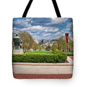 Capitol - Madison - Wisconsin From Bascom Hall Tote Bag