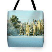 Carberry Tower In Late Afternoon Sunshine Tote Bag