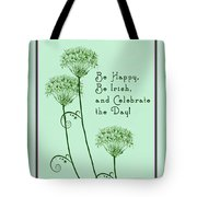 Card For St. Patrick's Day Tote Bag