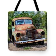 Cars From The Past Tote Bag