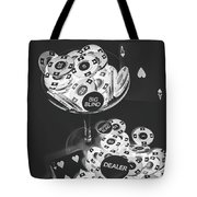 Casino Cocktail Tote Bag