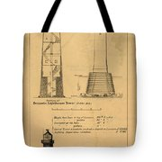 Cast Iron Lighthouses Tote Bag