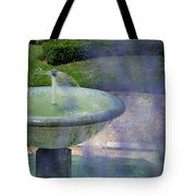 Castel Fountain Tote Bag