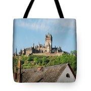 Castle At Cochem In Germany Tote Bag