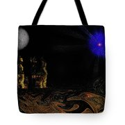 Castle In The Night Tote Bag