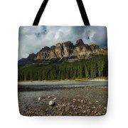 Castle Mountain Tote Bag