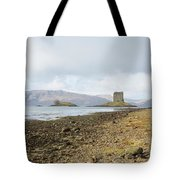 castle Stalker in late autumn Tote Bag