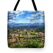 Castle View Tote Bag