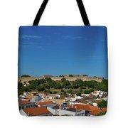 Castro Marim Village And Medieval Castle Tote Bag