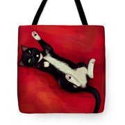 Cat N Tote Bag