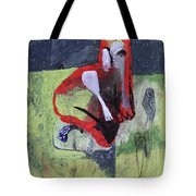 Cat With Other Garden Animals Tote Bag