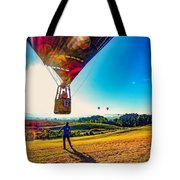 Catch Me If You Can. Tote Bag by Kendall McKernon