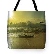 Catching The Spirit Sun Coastal Sunrise Tote Bag