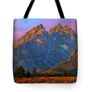 Cathedral Dawn Tote Bag by Greg Norrell
