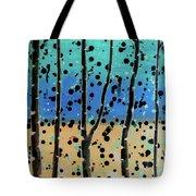 Celebration - Abstract Landscape  Tote Bag