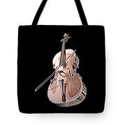 Cello String Music Instrument Musician Color Designed Tote Bag