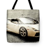 Cement And Chrome Tote Bag