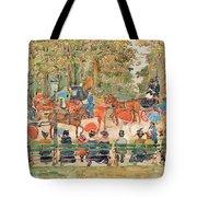 Central Park 1901 - Digital Remastered Edition Tote Bag