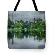 Central Park Reflections Tote Bag