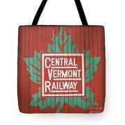 Central Vermont Railway Tote Bag