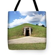 Indian Mound At Ocmulgee National Monument 1 Tote Bag