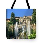 Fountain Of Neptune Tote Bag