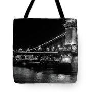 Chain Bridge Tote Bag