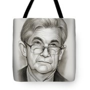 Chairman Powell Tote Bag