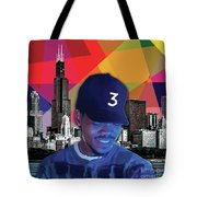 Chance Chicago Tote Bag