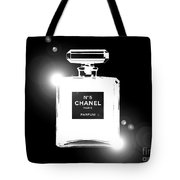 Chanel Lights Bw Tote Bag