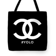 Chanel You Only Live Once Tote Bag