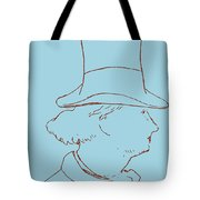 Charles Baudelaire By Edouard Manet Tote Bag