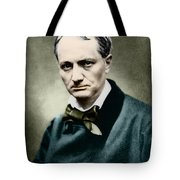 Charles Baudelaire, French Writer, Photo Tote Bag