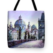 Charles Bridge  Prague Tote Bag